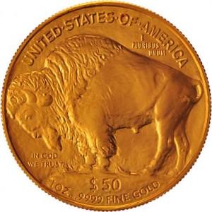 American Gold Buffalo Back